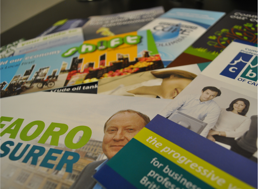 Brochures – small but mighty